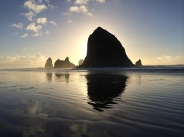 Cannon Beach, Oregon - a place that reminds me of love.
