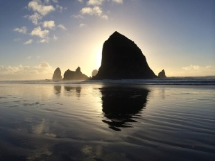Cannon Beach, Oregon - my peaceful spot