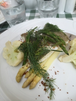 My first meal in Denmark