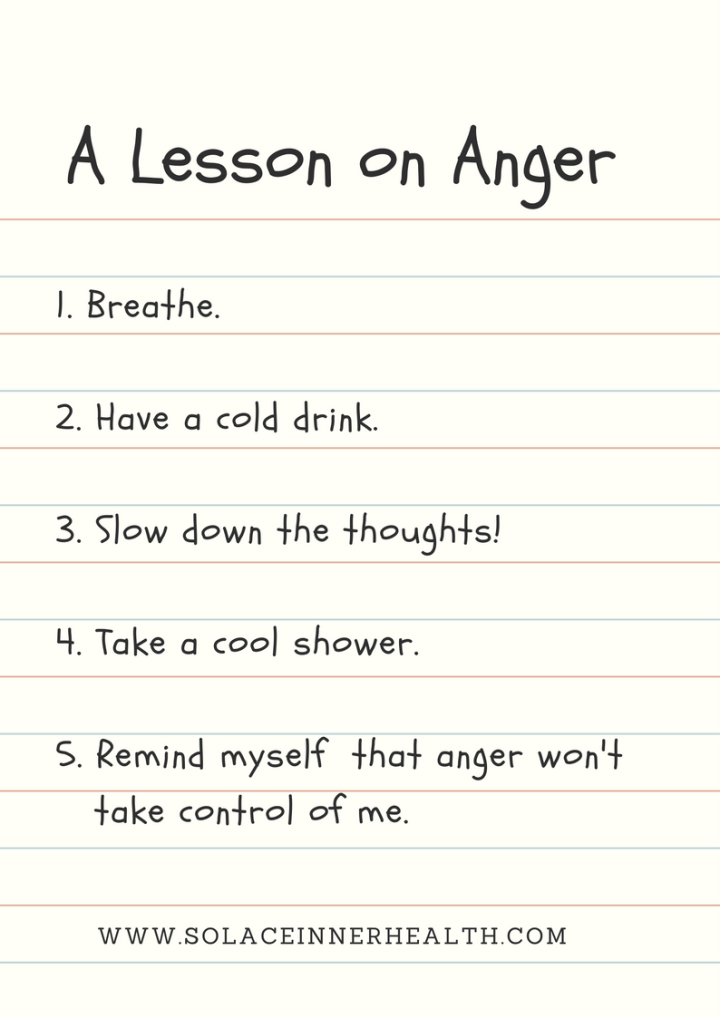 A Lesson on Anger