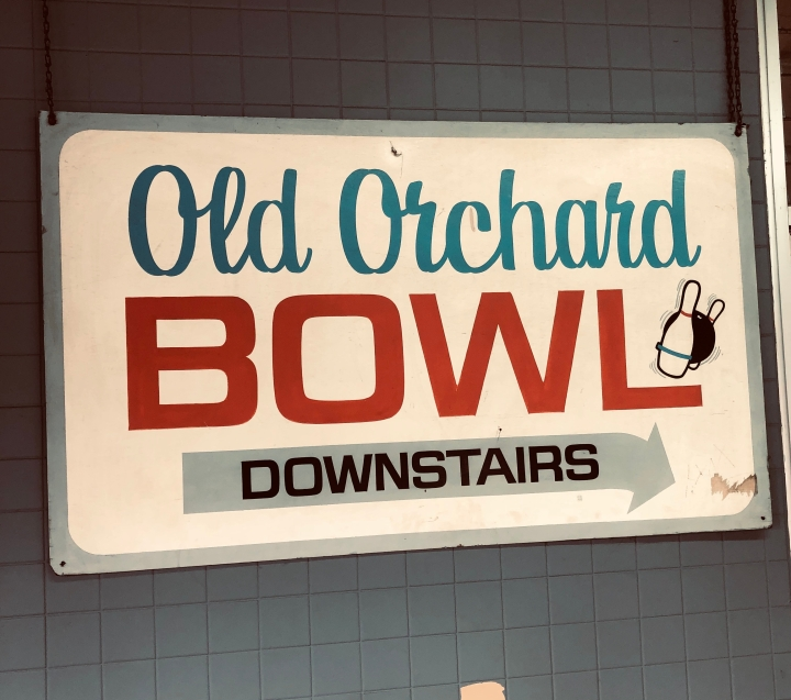 Old Friends at the Old Orchard Bowling Alley